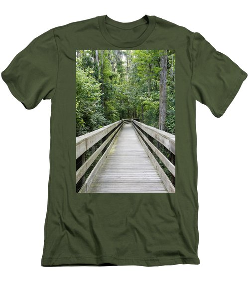 Men's T-Shirt (Slim Fit) featuring the photograph Wander by Laurie Perry