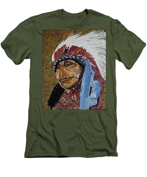 Warrior Chief Men's T-Shirt (Athletic Fit)