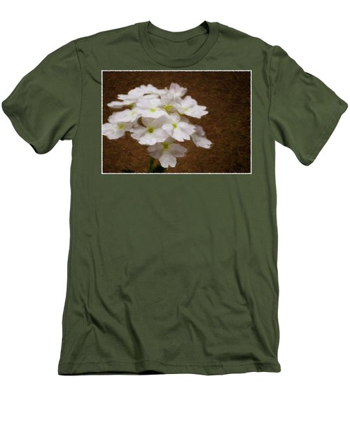 Watercolor Of Daisies Men's T-Shirt (Athletic Fit)