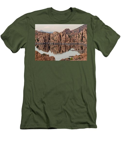 Watson Lake Tranquility Men's T-Shirt (Athletic Fit)