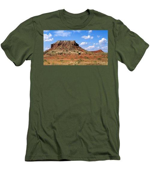 Lone Peak Mountain Men's T-Shirt (Slim Fit)