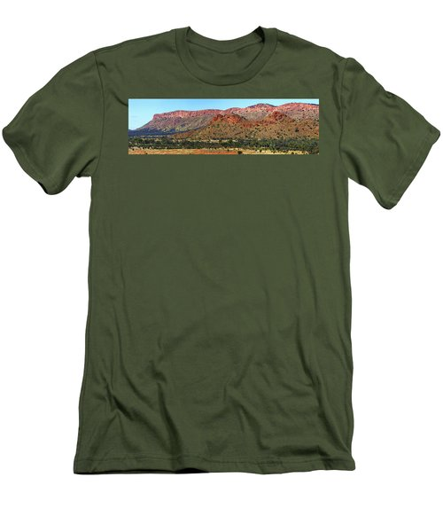 Western Macdonnell Ranges Men's T-Shirt (Slim Fit) by Paul Svensen