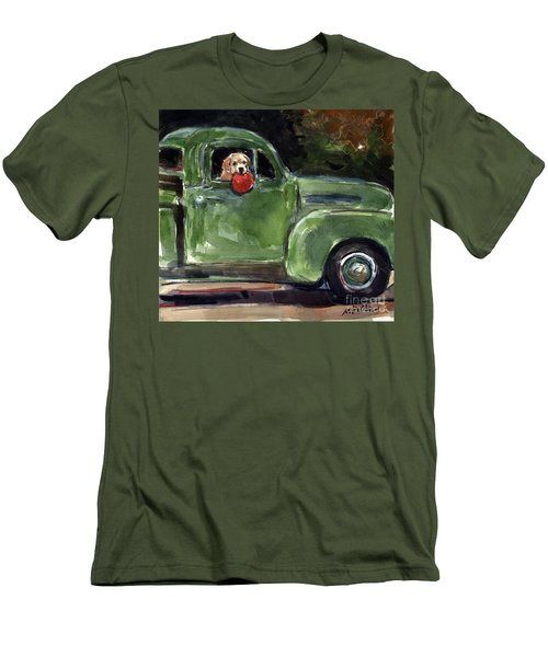 Wham-o Men's T-Shirt (Slim Fit) by Molly Poole