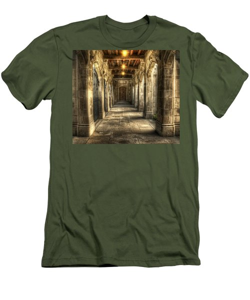 What Lies Beyond Men's T-Shirt (Athletic Fit)