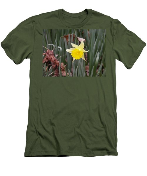 Men's T-Shirt (Slim Fit) featuring the photograph Whats Up Buttercup by Nick Kirby