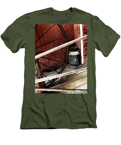 Wheels Of Time Men's T-Shirt (Athletic Fit)