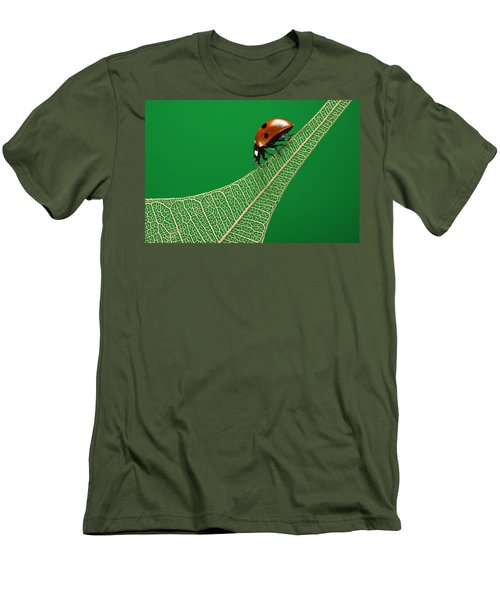 Where Have All The Green Leaves Gone? Men's T-Shirt (Athletic Fit)