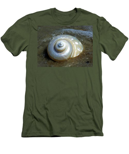 Whispering Tides Men's T-Shirt (Athletic Fit)
