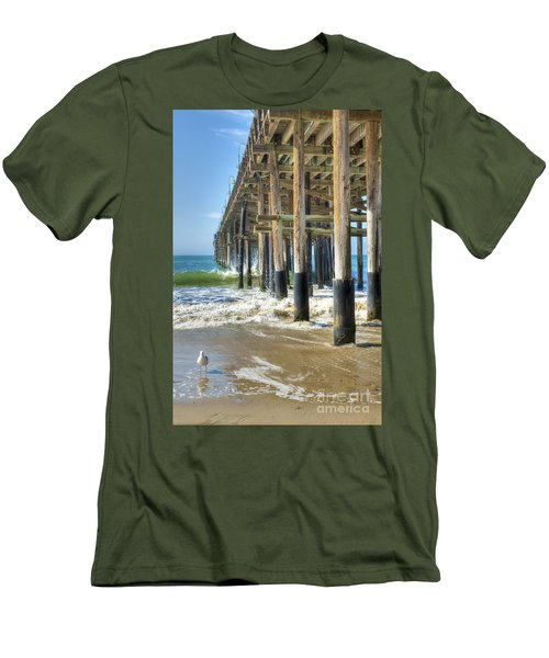 Who Are You Looking At Men's T-Shirt (Slim Fit) by David Zanzinger