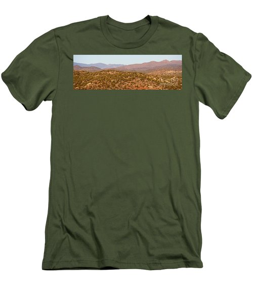 Wickenburg Mountains Men's T-Shirt (Athletic Fit)