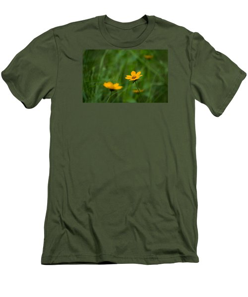 Wild And Free Men's T-Shirt (Slim Fit) by Shelby  Young