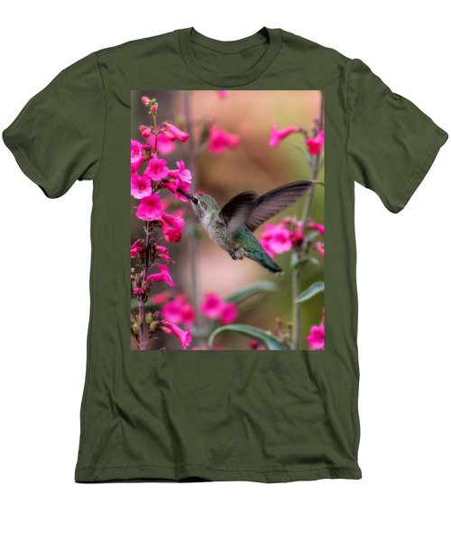 Wild Thing Men's T-Shirt (Slim Fit) by Tammy Espino
