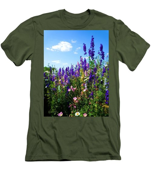 Wildflowers #9 Men's T-Shirt (Athletic Fit)