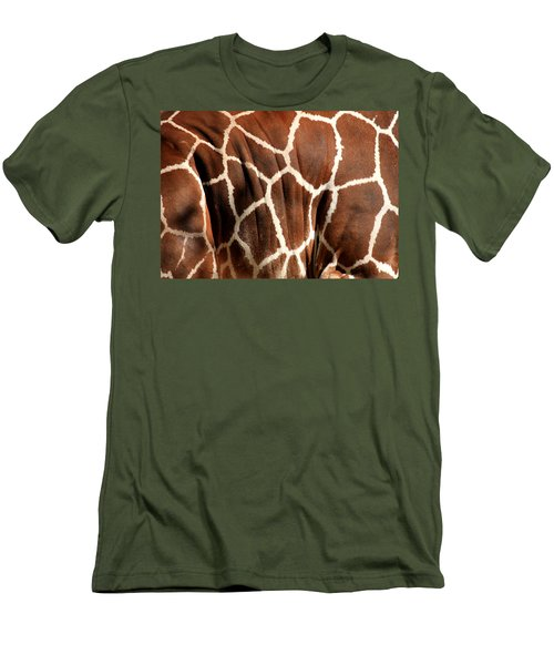 Wildlife Patterns  Men's T-Shirt (Athletic Fit)