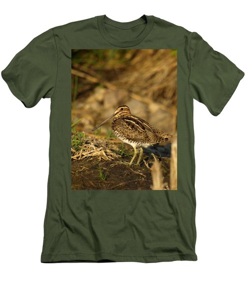 Wilson's Snipe Men's T-Shirt (Athletic Fit)