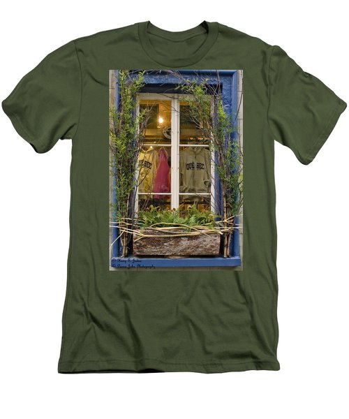 Windows Of Quebec 3 Men's T-Shirt (Athletic Fit)
