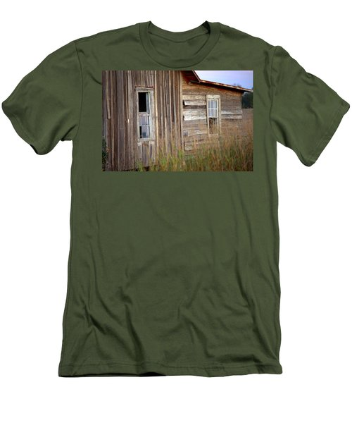 Men's T-Shirt (Slim Fit) featuring the photograph Windows On The World by Gordon Elwell