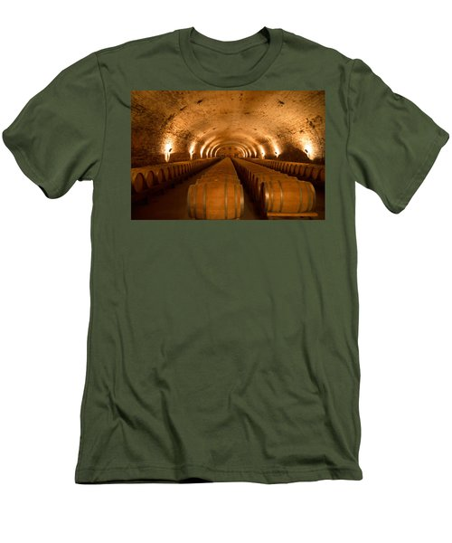 Wine Cellar Men's T-Shirt (Athletic Fit)
