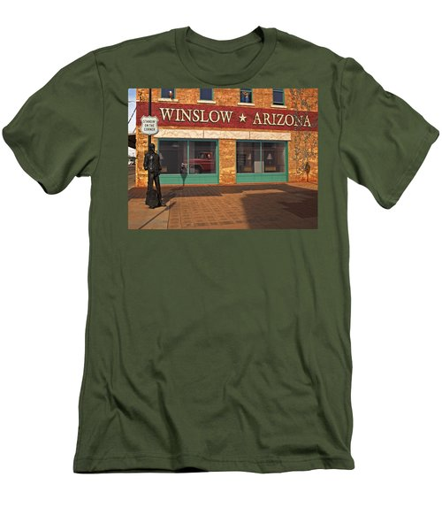 Winslow Arizona Men's T-Shirt (Athletic Fit)