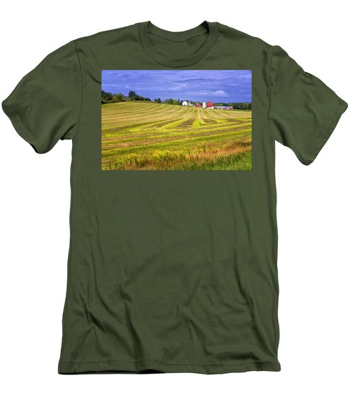 Wisconsin Dawn Men's T-Shirt (Slim Fit) by Joan Carroll