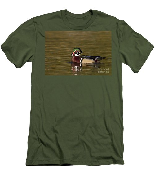 Wood Duck Calling Men's T-Shirt (Athletic Fit)
