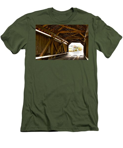 Wood Fame Bridge Men's T-Shirt (Athletic Fit)
