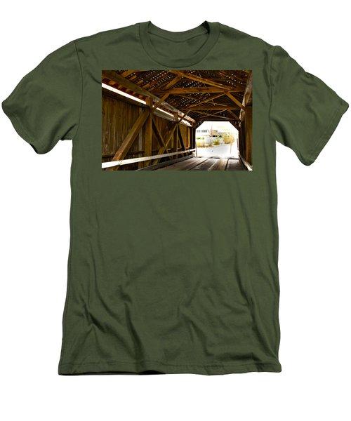 Wood Fame Bridge Men's T-Shirt (Athletic Fit)