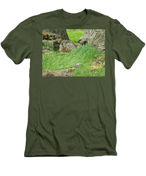 Woodchuck 2 Men's T-Shirt (Athletic Fit)