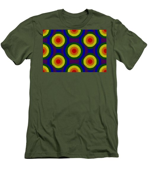 Woven Circles Men's T-Shirt (Athletic Fit)