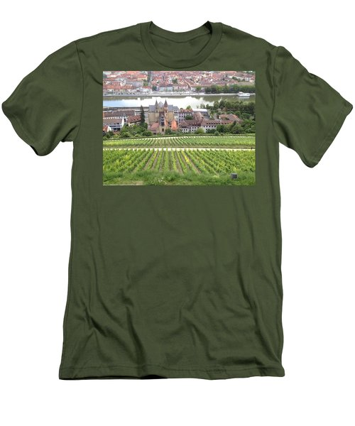 Wurzburg Men's T-Shirt (Slim Fit) by Pema Hou