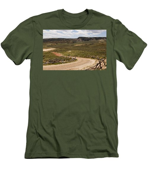 Wyoming Men's T-Shirt (Athletic Fit)