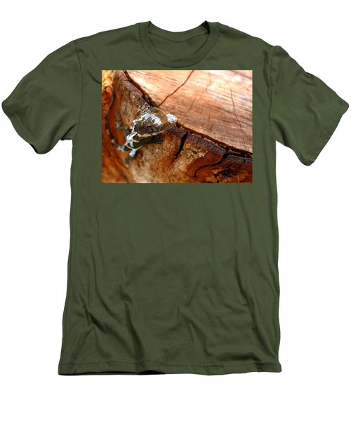 Men's T-Shirt (Slim Fit) featuring the photograph You Can See Me? by Greg Allore
