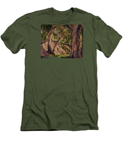 Young And Old Eucalyptus Men's T-Shirt (Slim Fit) by Jane Thorpe