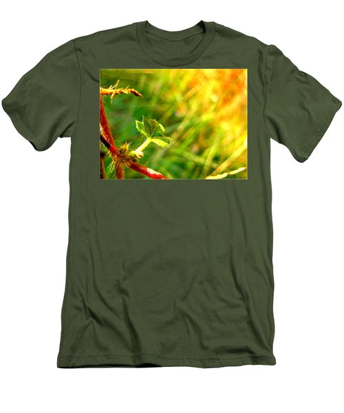 Men's T-Shirt (Slim Fit) featuring the photograph A New Morning by Debbie Portwood