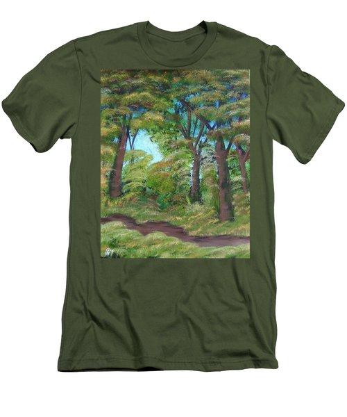 Autumn Evening Men's T-Shirt (Athletic Fit)