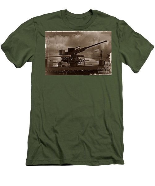 Men's T-Shirt (Slim Fit) featuring the photograph Hmas Castlemaine 5 by Blair Stuart
