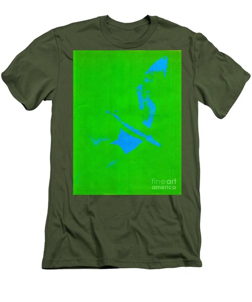 No Limits In Green Men's T-Shirt (Athletic Fit)