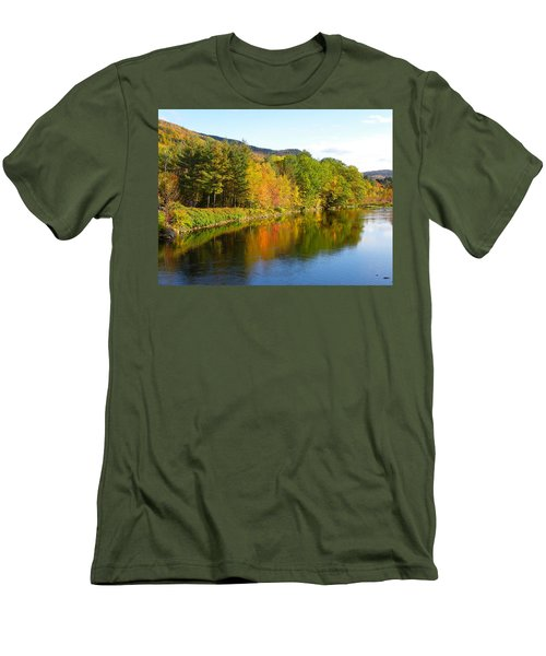 Painted Brook Men's T-Shirt (Athletic Fit)