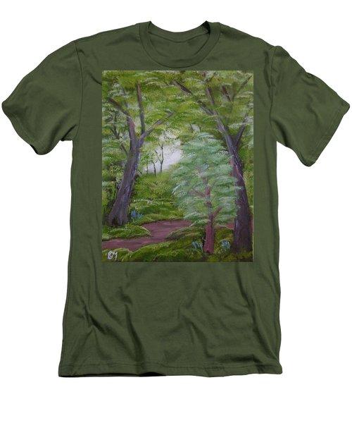 Summer Morning Men's T-Shirt (Athletic Fit)