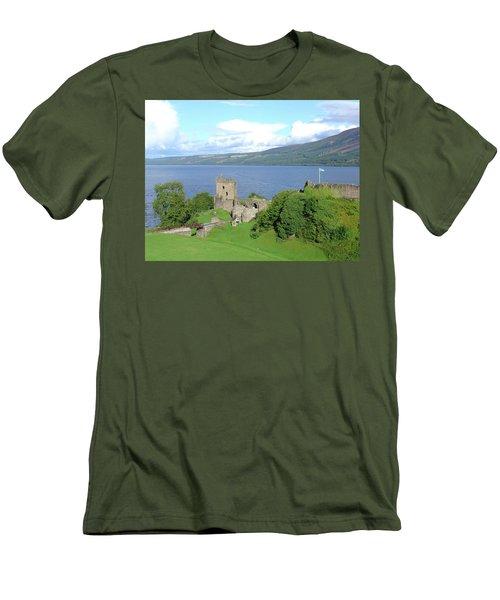 Urquhart Castle Men's T-Shirt (Athletic Fit)