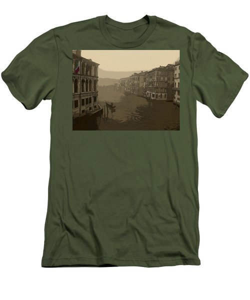 Men's T-Shirt (Slim Fit) featuring the photograph Venice by David Gleeson