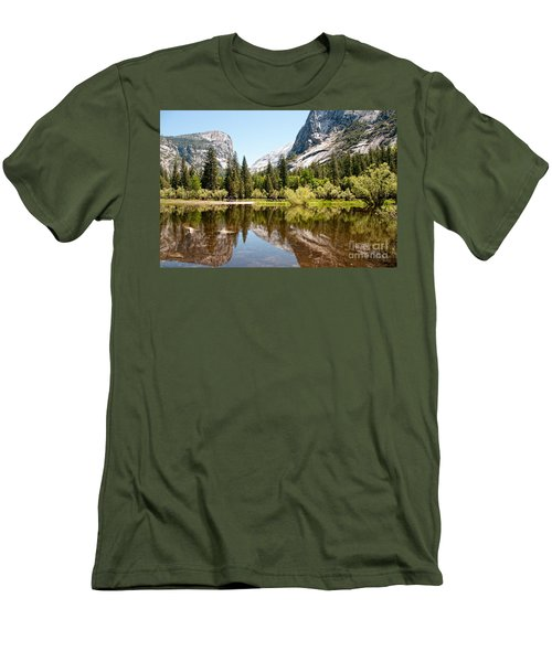 Yosemite Men's T-Shirt (Slim Fit) by Carol Ailles