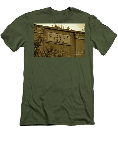 Men's T-Shirt (Slim Fit) featuring the photograph 1903 by Carol  Bradley