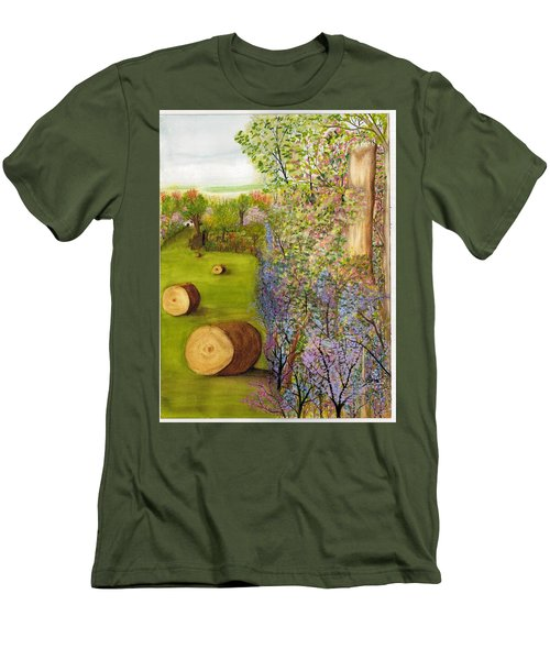 Dogwoods And Redbuds Men's T-Shirt (Athletic Fit)