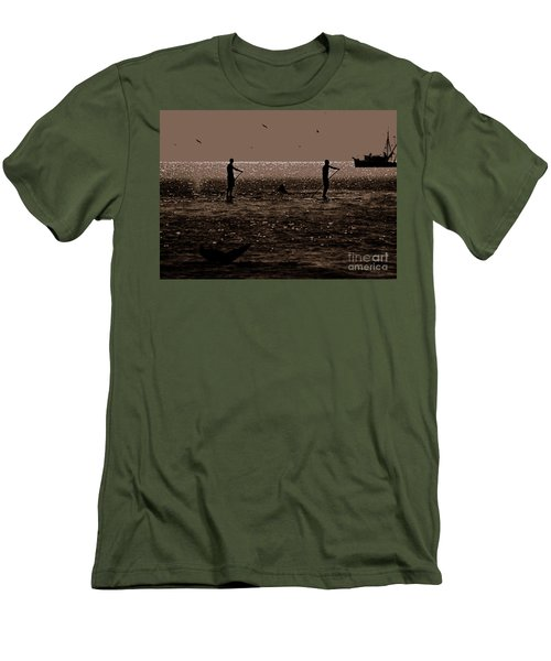 A Lot Goin' On Men's T-Shirt (Slim Fit) by Lydia Holly
