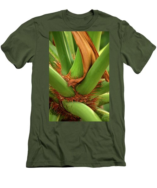 Men's T-Shirt (Slim Fit) featuring the photograph A Palmetto's Elbows by JD Grimes