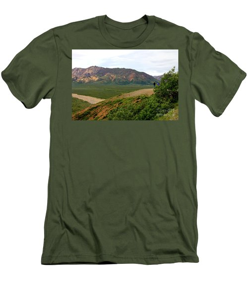 Men's T-Shirt (Slim Fit) featuring the photograph A Photographer's Dream by Kathy  White