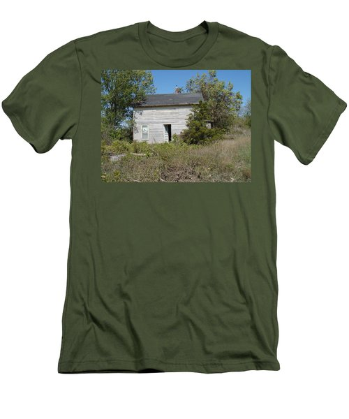 Men's T-Shirt (Slim Fit) featuring the photograph Abandoned by Bonfire Photography