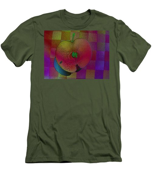 Men's T-Shirt (Slim Fit) featuring the photograph Apple Of My Eye by David Pantuso