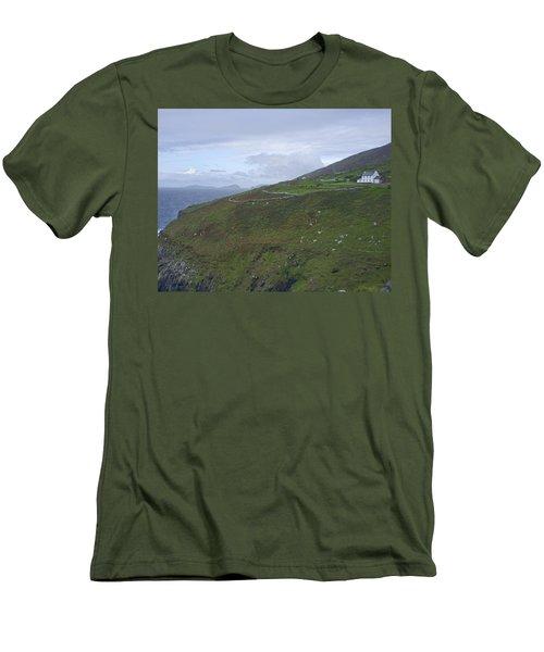 Men's T-Shirt (Slim Fit) featuring the photograph Atlantic Coast Ireland by Hugh Smith